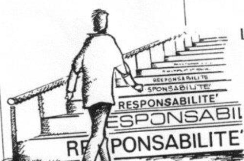 Article : Notre Avenir, Notre Responsabilité !