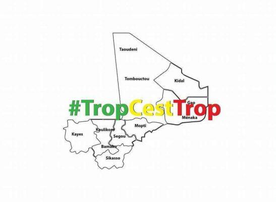 Logo de la plateforme des jeunes #TropCestTrop