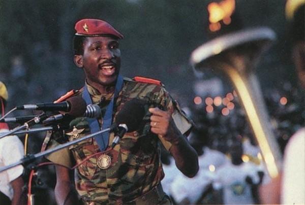 Thomas Sankara en meeting Crédit photo :Google image